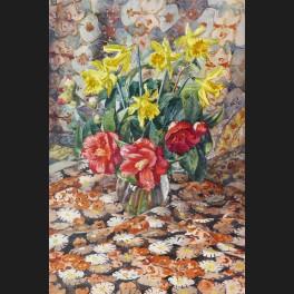 http://www.cerca-trova.fr/11105-thickbox_default/pierre-lemoine-jonquilles-et-hibiscus-aquarelle-n63.jpg
