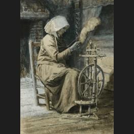 http://www.cerca-trova.fr/12312-thickbox_default/ecole-francaise-du-xixeme-siecle-femme-au-rouet-dessin.jpg