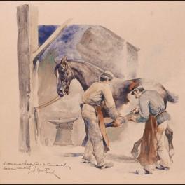 http://www.cerca-trova.fr/12424-thickbox_default/alfred-jean-marie-paris-deux-hommes-ferrant-un-cheval-aquarelle.jpg