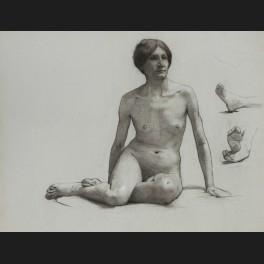 http://www.cerca-trova.fr/14557-thickbox_default/laetitia-doumichaud-de-la-chassagne-grosse-academie-de-femme-nue-assise-et-etude-de-pieds-dessin-.jpg