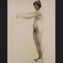 http://www.cerca-trova.fr/14573-thickbox_default/laetitia-doumichaud-de-la-chassagne-grosse-academie-de-femme-nue-debout-dessin.jpg