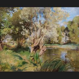 http://www.cerca-trova.fr/15098-thickbox_default/henri-zuber-paysage-d-ete-anime-en-bord-de-riviere-tableau.jpg