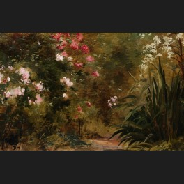 http://www.cerca-trova.fr/15683-thickbox_default/ecole-francaise-circa-1880-chemin-dans-un-parc-fleuri-tableau.jpg