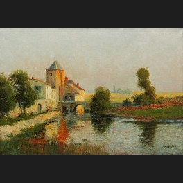 http://www.cerca-trova.fr/16421-thickbox_default/eloi-noel-beraud-alias-antoine-bouvard-marc-aldine-ou-pelletier-village-au-bord-d-une-riviere.jpg