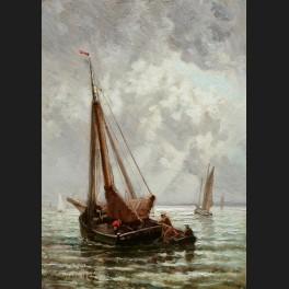 http://www.cerca-trova.fr/16697-thickbox_default/henri-louis-cassinelli-bateaux-et-marins-au-large-du-havre.jpg