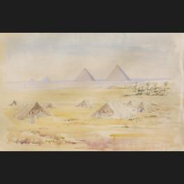 http://www.cerca-trova.fr/19616-thickbox_default/ecole-francaise-ou-anglaise-du-xxeme-siecle-les-pyramides-de-gizeh-avec-un-campement-de-nomades-dessin.jpg