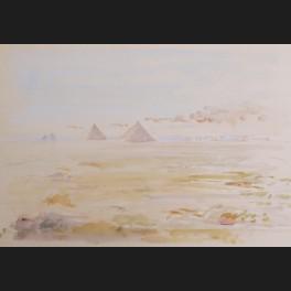 http://www.cerca-trova.fr/19745-thickbox_default/ecole-francaise-ou-anglaise-du-xxeme-siecle-les-pyramides-vues-du-plateau-de-gizeh-dessin.jpg