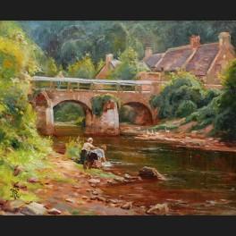 http://www.cerca-trova.fr/20357-thickbox_default/ecole-francaise-circa-1900-le-pont-lovignon-ou-pont-fleuri-a-quimperle-tableau.jpg