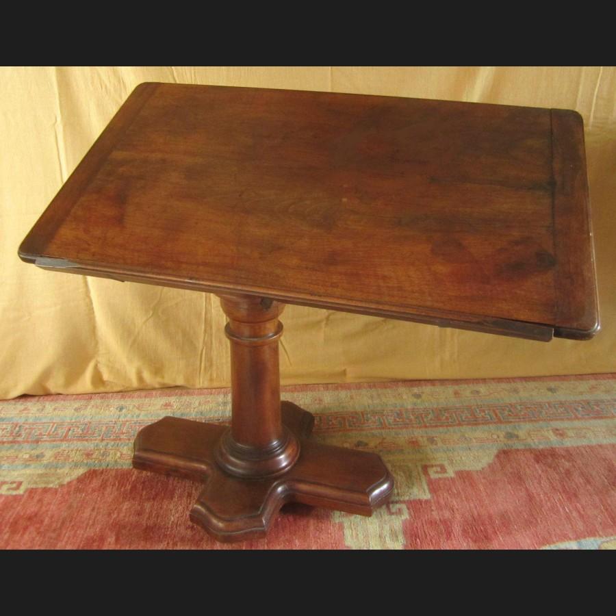 Table m canique de malade ou bless en noyer de la maison - Art de la table en ligne ...