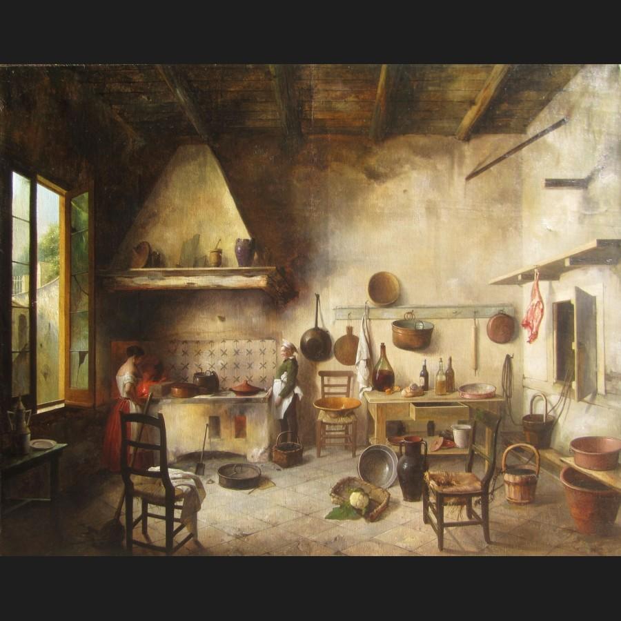 Entourage de martin dr lling int rieur de cuisine for Tableau interieur