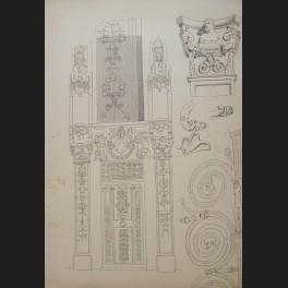 http://www.cerca-trova.fr/4299-thickbox_default/georges-bellanger-etude-de-details-architecturaux-a-provins-dessin.jpg
