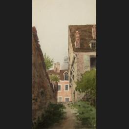 http://www.cerca-trova.fr/4335-thickbox_default/georges-bellanger-ruelle-maisons-et-coupole-de-l-eglise-saint-quiriace-a-provins-aquarelle.jpg
