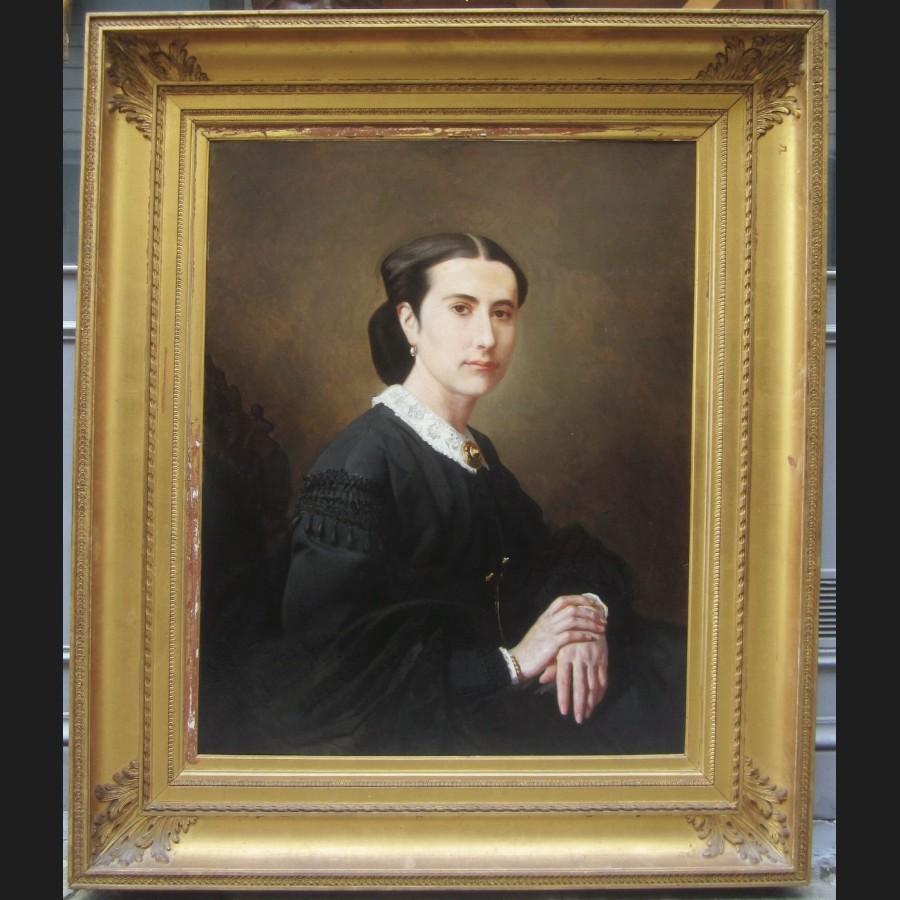 jean l on palli re portrait de femme tableau galerie cerca trova tableaux dessins et. Black Bedroom Furniture Sets. Home Design Ideas