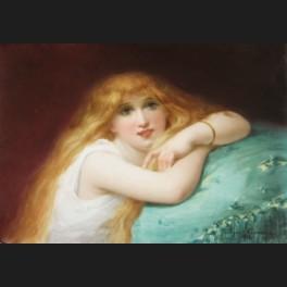 http://www.cerca-trova.fr/9310-thickbox_default/ecole-francaise-ou-belge-1888-jeune-fille-blonde-accoudee-a-un-coussin-plaque-en-porcelaine.jpg