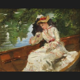 http://www.cerca-trova.fr/9461-thickbox_default/ecole-francaise-impressionniste-circa-1880-femme-a-l-ombrelle-en-barque.jpg