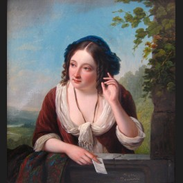 http://www.cerca-trova.fr/994-thickbox_default/jean-henri-de-coene-jeune-femme-a-la-lettre-tableau.jpg